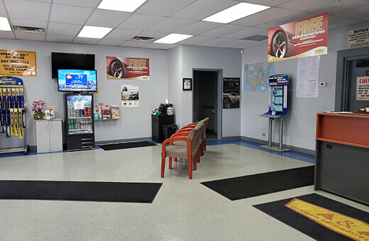 A & A Complete Automotive Repair Lobby